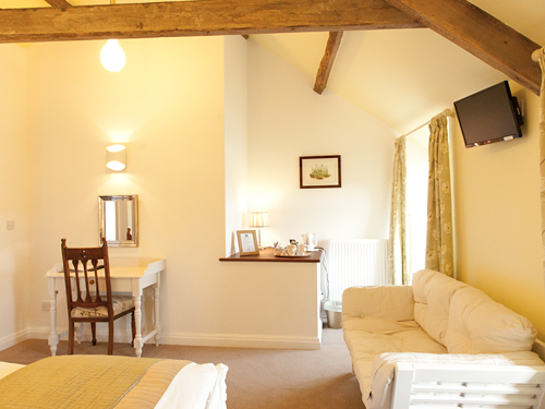 The Hayloft Bedroom - view